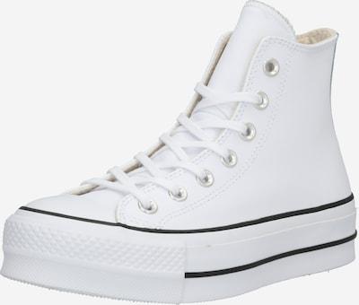 CONVERSE Baskets hautes en noir / blanc, Vue avec produit