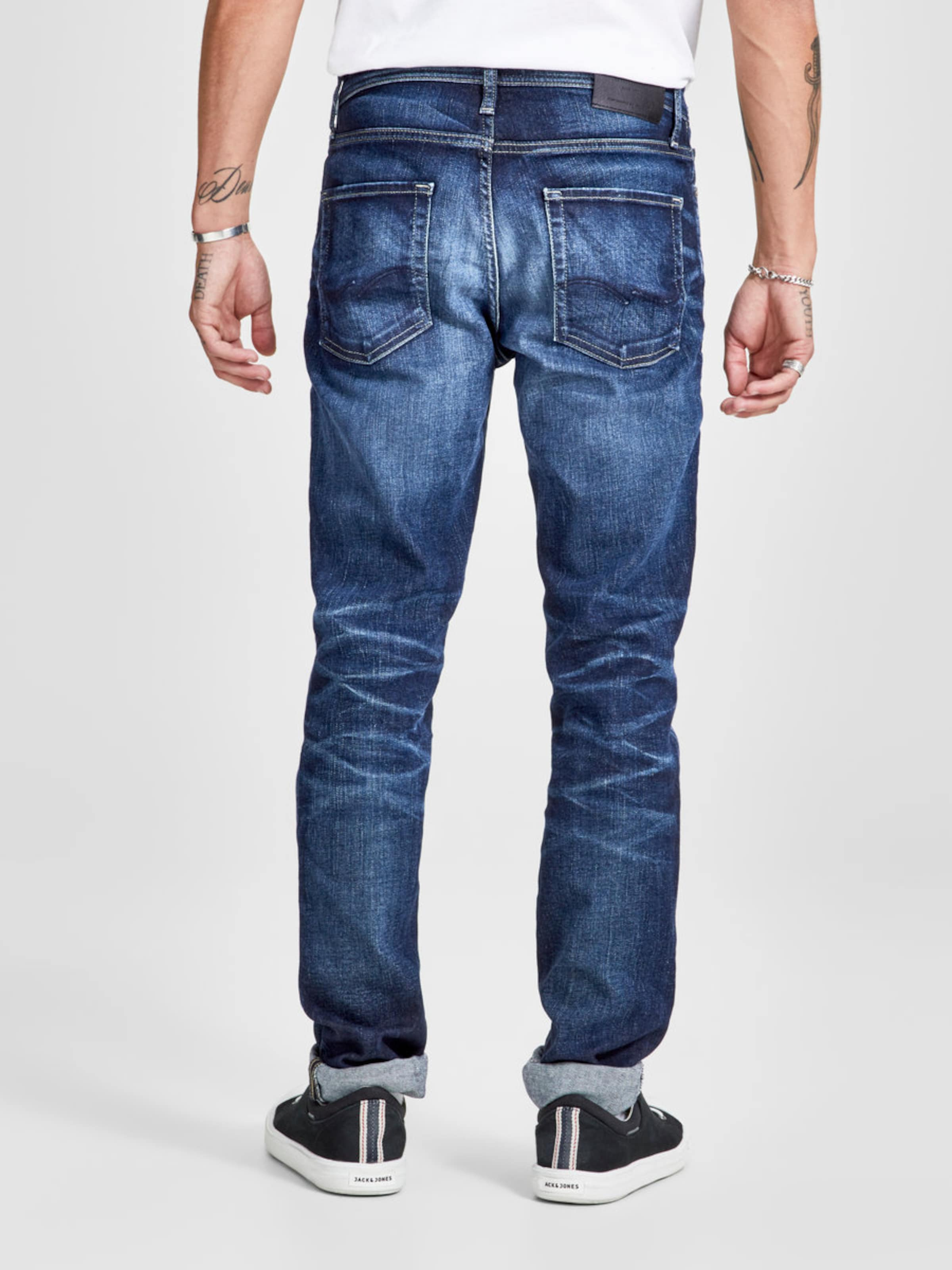 Jones In Jackamp; Noos' Denim Jeans Jj Original 'tim Blue 119 hQdtxCrs