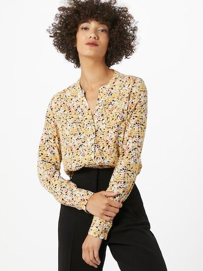 Calvin Klein Blúzka - žltá / zmiešané farby: Pohľad spredu