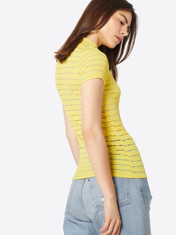 En shirt T 'gral' Sisters Jaune Point CexBod