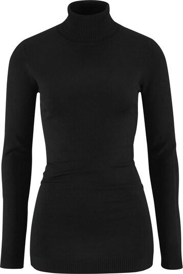 LAURA SCOTT Rollkragenpullover in schwarz, Produktansicht