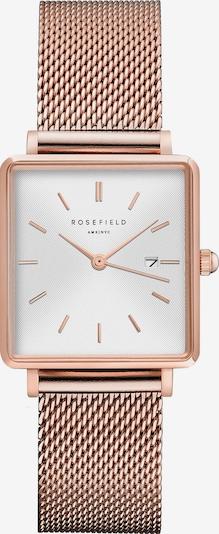 ROSEFIELD Uhr in rosegold / weiß, Produktansicht