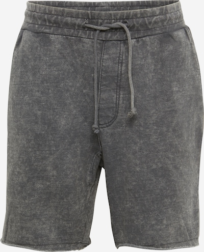 Urban Classics Shorts 'Vinage Terry' in grey denim: Frontalansicht