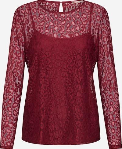 ESPRIT Shirt in weinrot, Produktansicht