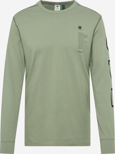 G-Star RAW Shirt in hellgrün, Produktansicht