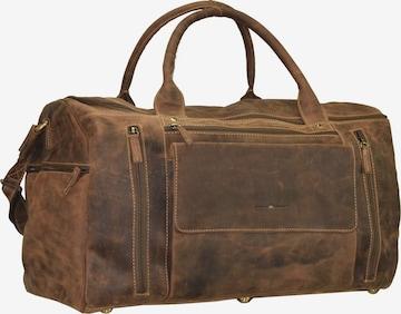 GREENBURRY Reisetasche in Braun