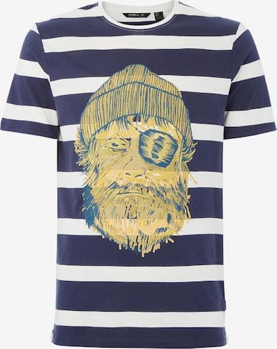 O'NEILL T-Shirt in navy / gelb / weiß, Produktansicht