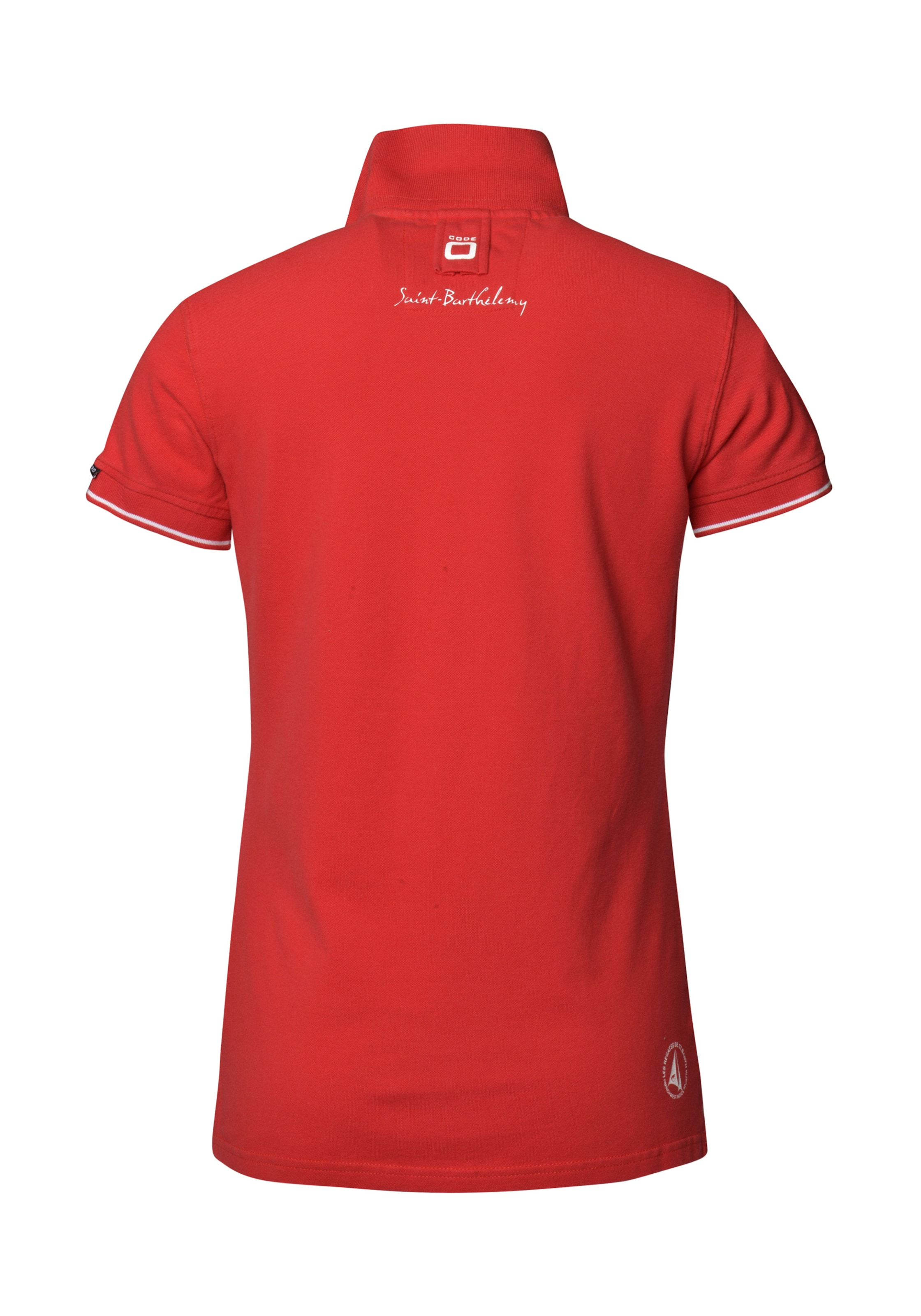 Code In Barthelemy' zero 'ss Polo Rot HD2IE9YW