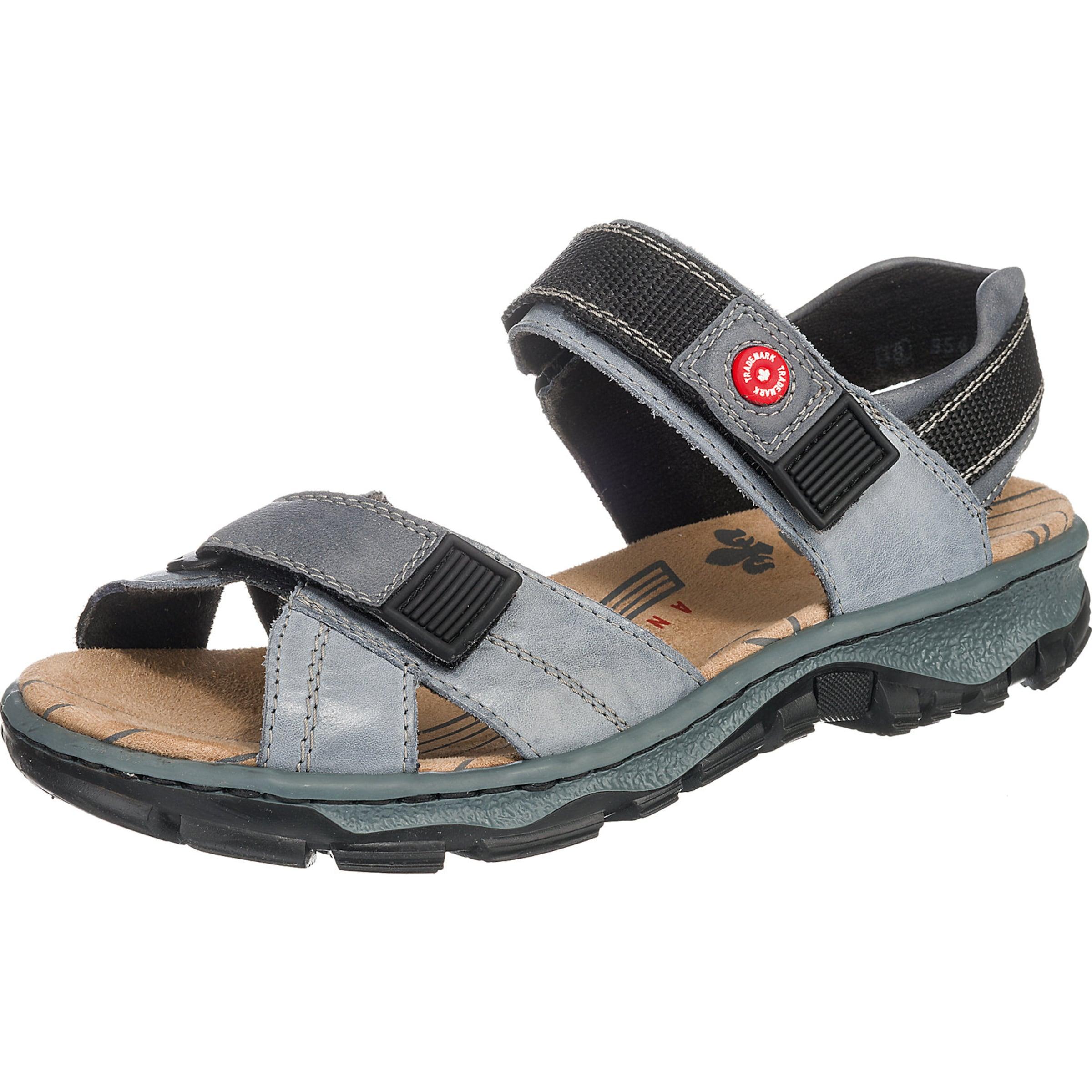 RIEKER Trekkingsandale Günstige und langlebige Schuhe