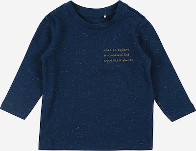 NAME IT Shirt in dunkelblau / hellorange, Produktansicht