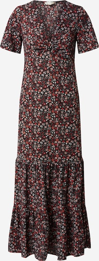 Miss Selfridge Kleid 'KNOT FRONT MAXI SMOC' in rot / schwarz, Produktansicht