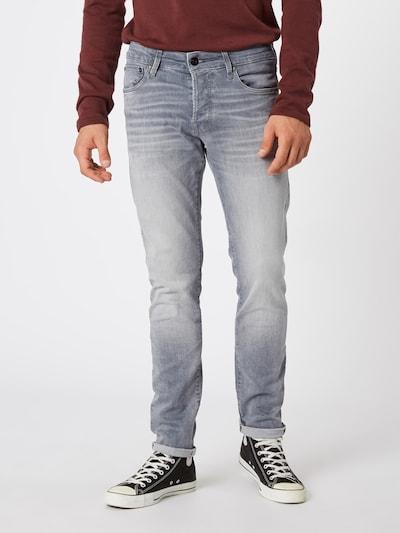 JACK & JONES Jeans 'JJIGLENN' i grey denim, Modelvisning