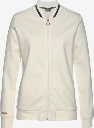 BUFFALO Sweatjacke in weiß, Produktansicht