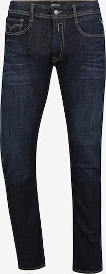 REPLAY Jeans mit Kontrastnähten in dunkelblau, Produktansicht