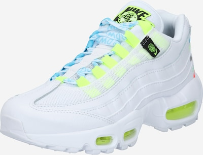Nike Sportswear Sneaker 'Air Max 95' in hellblau / neongelb / weiß, Produktansicht