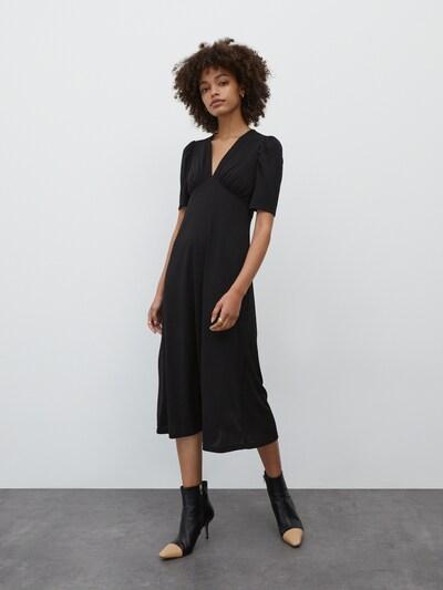 EDITED Kleid 'Lara' in schwarz, Modelansicht