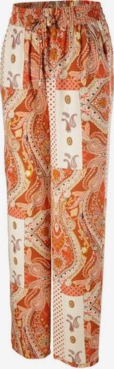Aniston CASUAL Schlupfhose in orange / weiß, Produktansicht