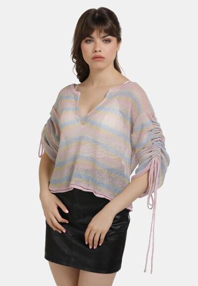 myMo at night Pullover in mischfarben, Modelansicht