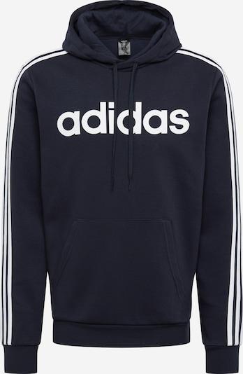 ADIDAS PERFORMANCE Sweatshirt in dunkelblau / weiß, Produktansicht