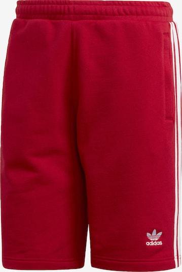 ADIDAS ORIGINALS Hlače | rdeča / bela barva, Prikaz izdelka