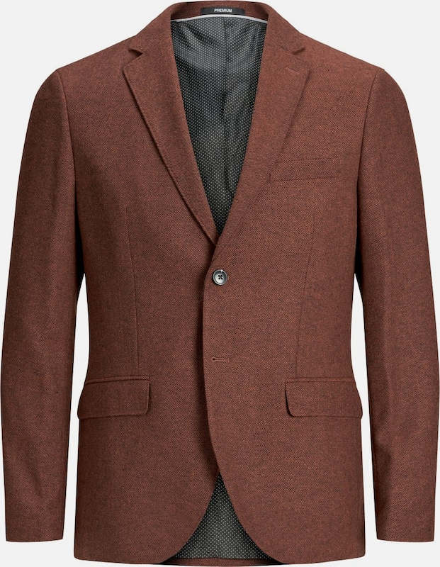 JACK & JONES Blazer in rostrot, Produktansicht