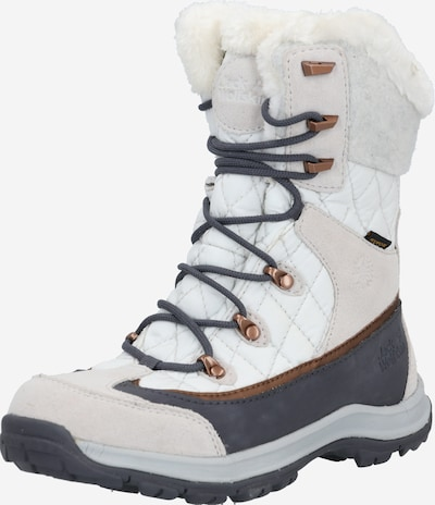 JACK WOLFSKIN Boots 'Aspen' in grey / light pink / white, Item view