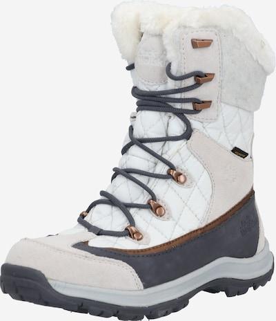 JACK WOLFSKIN Boots 'Aspen' in de kleur Grijs / Lichtroze / Wit, Productweergave
