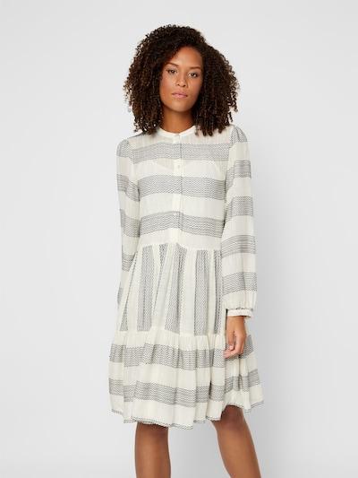 Y.A.S Kleid in beige / grau, Modelansicht