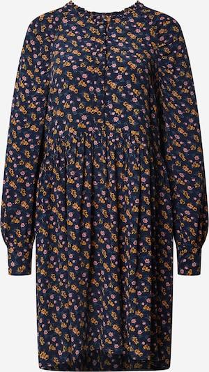 Y.A.S Kleid 'Tamaly' in dunkelblau / gelb / rosa, Produktansicht