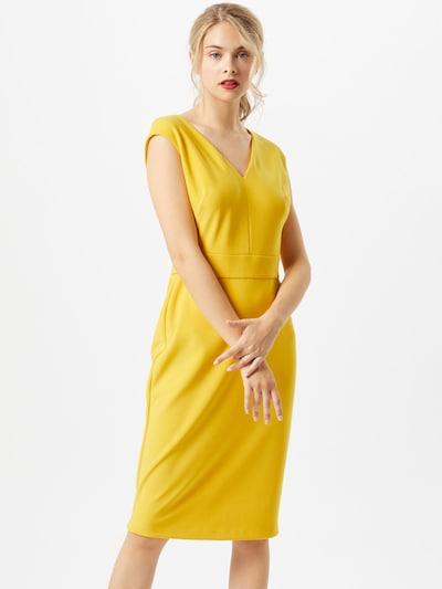 Lauren Ralph Lauren Kokerjurk 'Jannette' in de kleur Geel, Modelweergave