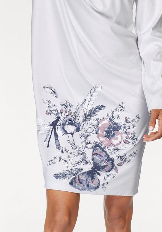 SCHIESSER Sleepshirt 'Rhapsody' mit floralem Frontprint
