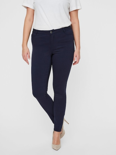 Junarose Jeans in blue denim, Modelansicht