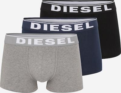 DIESEL Trunks 'Damien' in navy / graumeliert / schwarz, Produktansicht