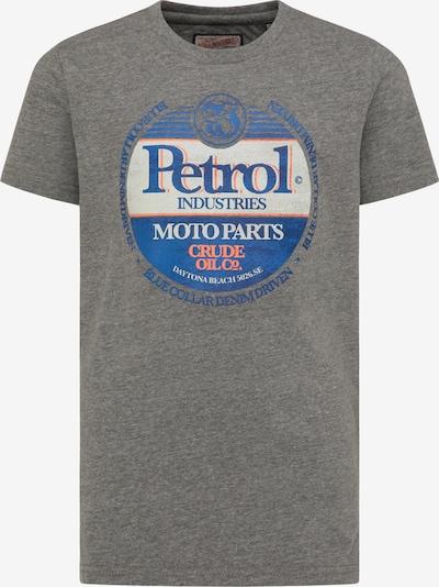 Petrol Industries Shirt in de kleur Grijs gemêleerd / Gemengde kleuren, Productweergave