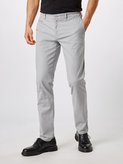 Pantaloni eleganți 'fabio in' BRAX pe gri deschis: Privire frontală