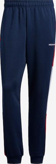 ADIDAS ORIGINALS Hose in dunkelblau / rot / weiß, Produktansicht