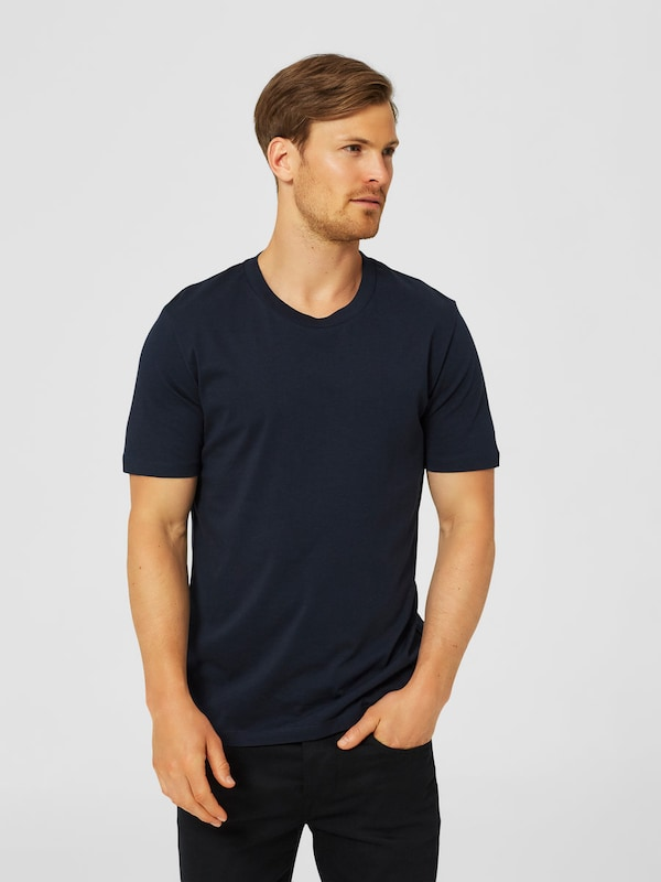 SELECTED HOMME Rundhalsausschnitt-T-Shirt