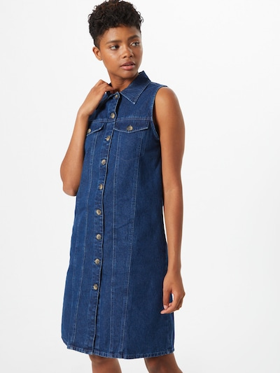 PIECES Särkkleit 'MALLE' sinine denim, Modellivaade
