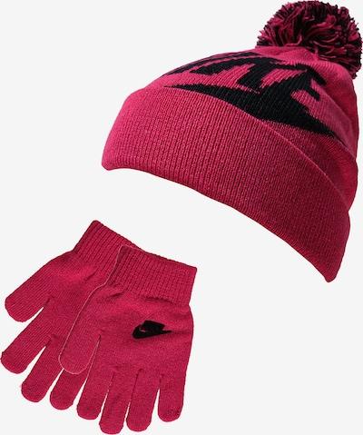 Nike Sportswear Set 'Swoosh Pom' in pitaya / schwarz, Produktansicht