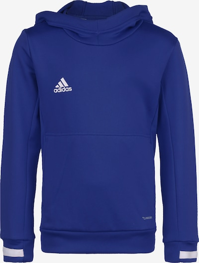 ADIDAS PERFORMANCE Pullover 'Team 19' in blau / weiß, Produktansicht