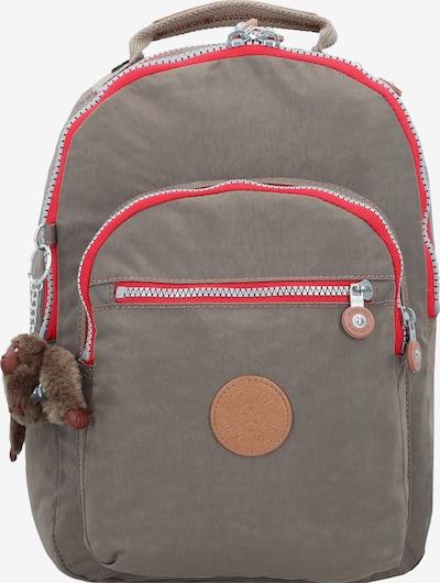 KIPLING Rucksack 'Basic Clas Seoul' in dunkelbeige / rot, Produktansicht