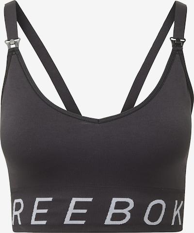 REEBOK Sport-Bra in schwarz / weiß, Produktansicht
