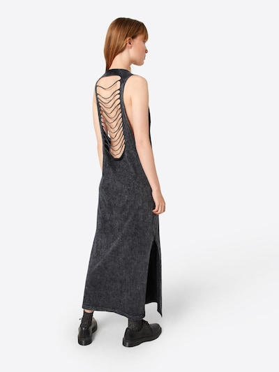 Urban Classics Kleid in anthrazit: Rückansicht