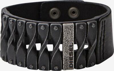 DIESEL Armband in schwarz, Produktansicht