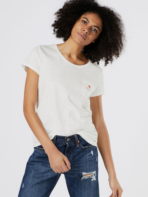 TOM TAILOR DENIM T-Shirt Valentine´s Embro