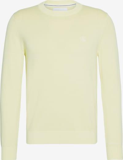 Calvin Klein Pullover in gelb, Produktansicht