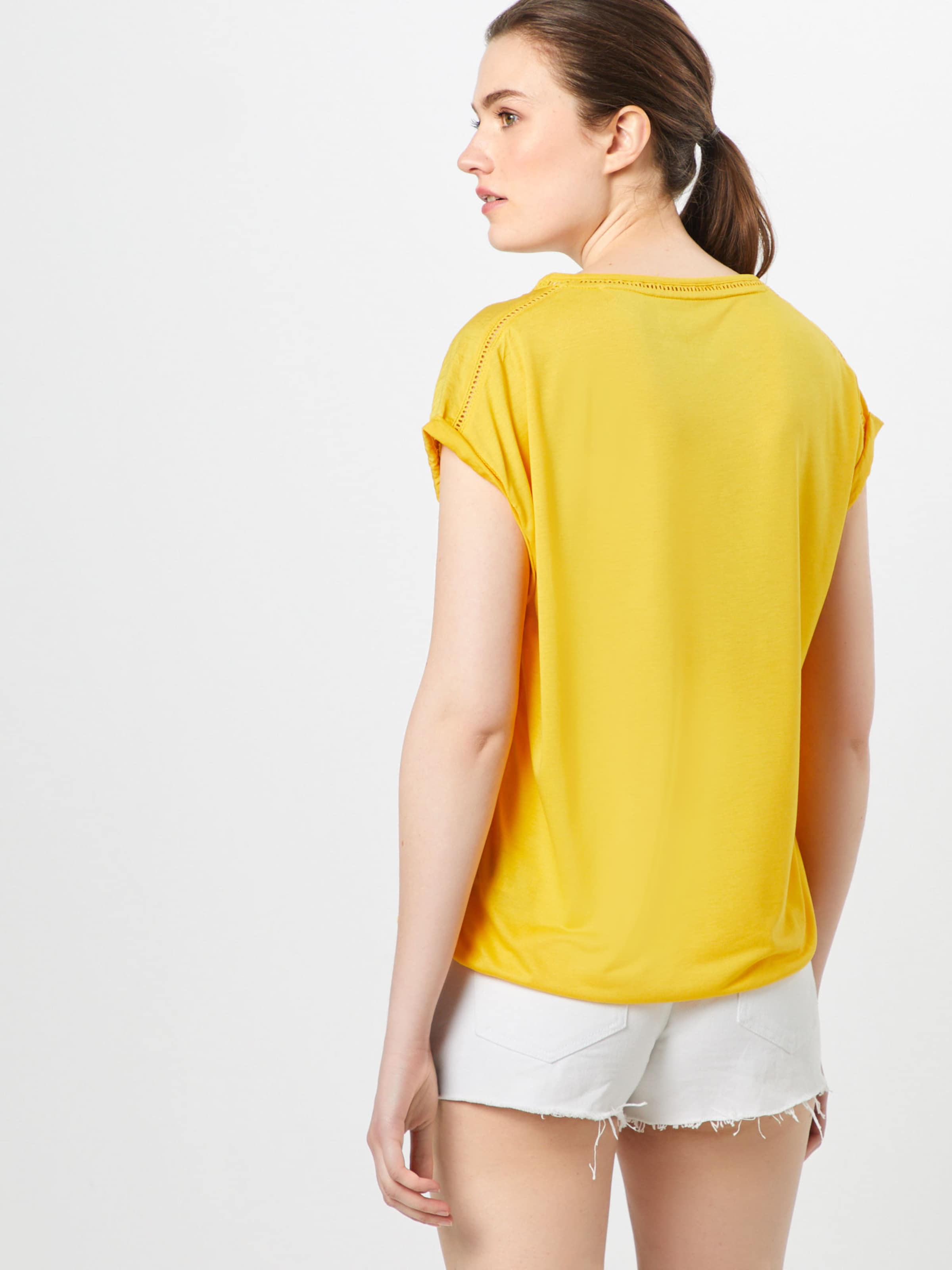 T oliver shirt S En Label Red Jaune c5ASq3j4RL