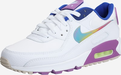 Nike Sportswear Sneakers low 'Air Max 90 SE' in Dark blue / Purple / White, Item view