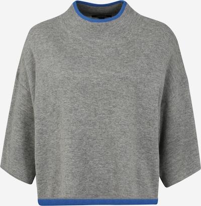 COMMA Pullover 'Poncho' in blau / grau / schwarz, Produktansicht