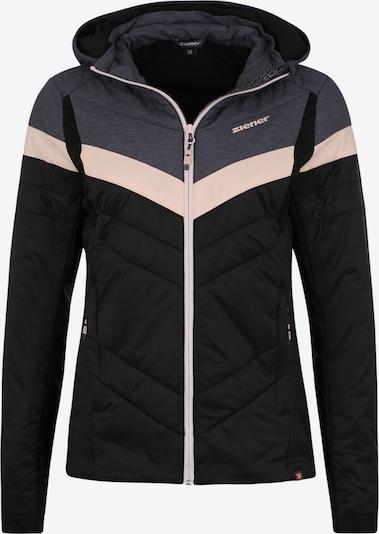 ZIENER Zunanja jakna 'NAFALDA lady' | temno siva / roza / črna barva, Prikaz izdelka